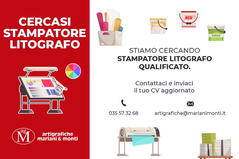 Artigrafiche Mariani & Monti - Cercasi Stampatore Litografo Qualificato